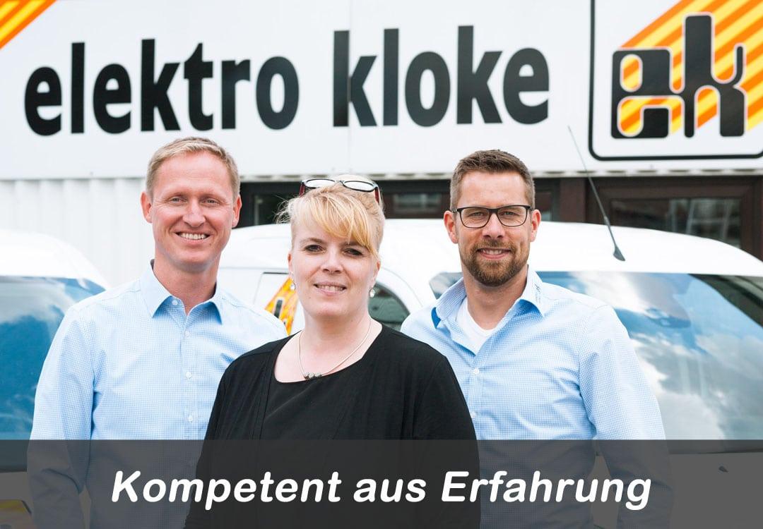 Die Geschäftsführer der Elektro Kloke GmbH in Stuhr