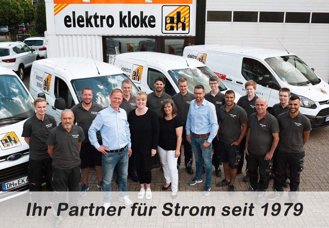 Meisterbetrieb Elektro Kloke GmbH in Stuhr - Ihr Partner für Strom seit 1979