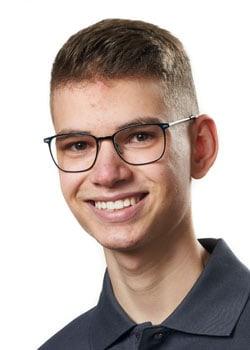 Azubi Max Mühlenbruch