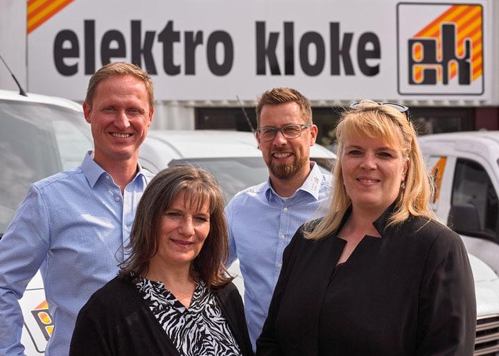 Führungs-Team Elektro Kloke GmbH Stuhr
